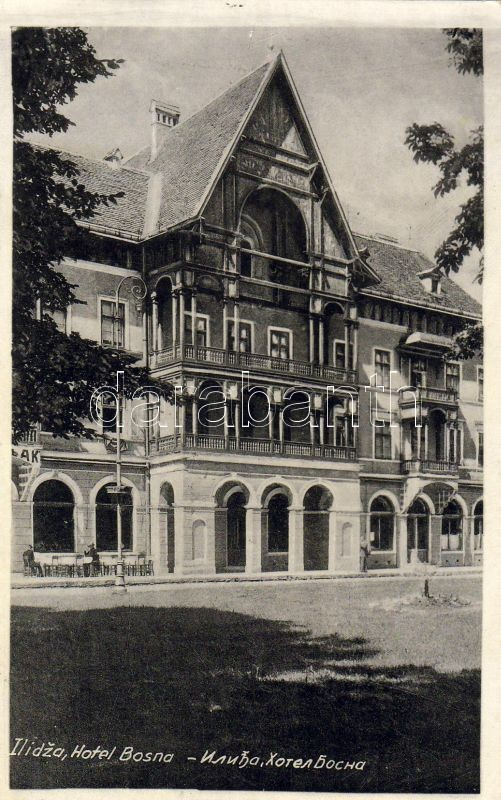 Ilidza Hotel Bosna, Ilidza Bosna hotel