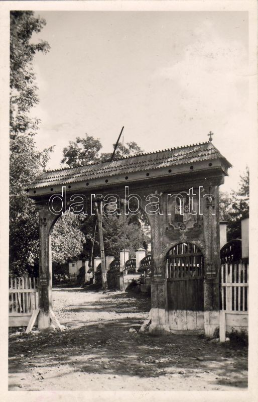 Mikháza, cloister, Székely gate, Mikháza, Kolostor, Székely kapu