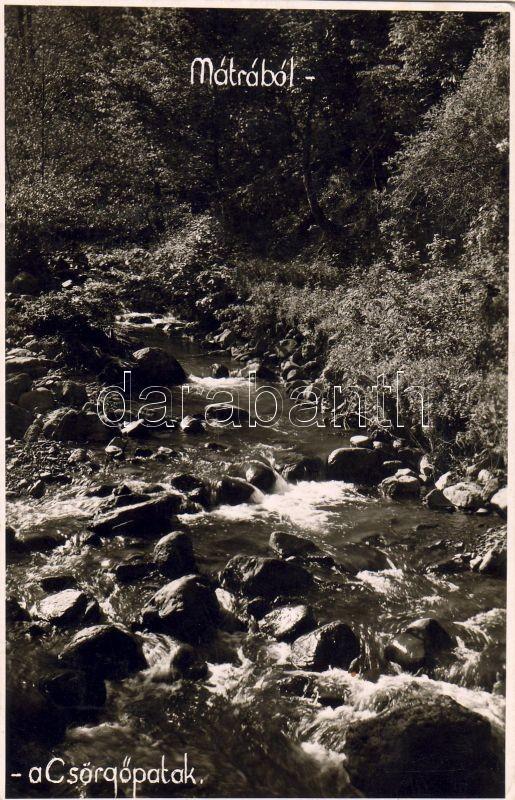 Mátra, Csörgő-patak