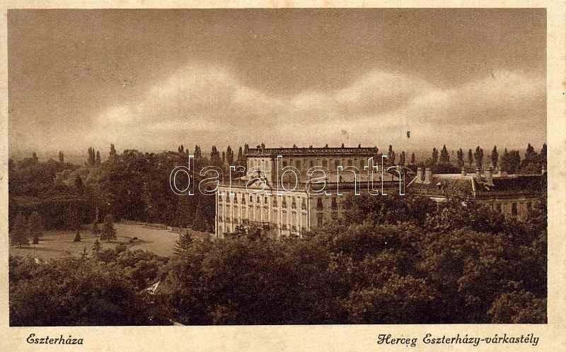 Eszterháza, Herceg Eszterházy várkastély