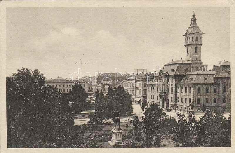 Szeged, Széchenyi tér, Juhász István kiadása