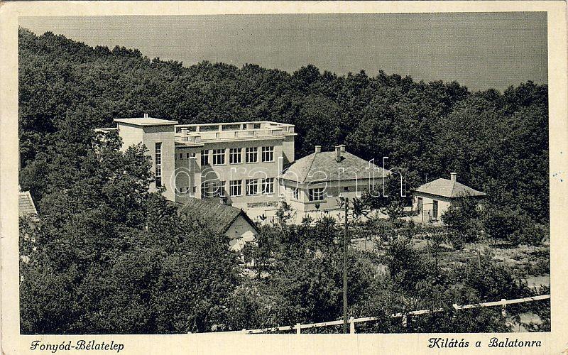 Fonyód-Bélatelep, Balaton