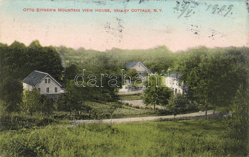 Clarkstown - Valley Cottage Otto Eitner házával, Clarkstown - Valley Cottage with Otto Eitner's house