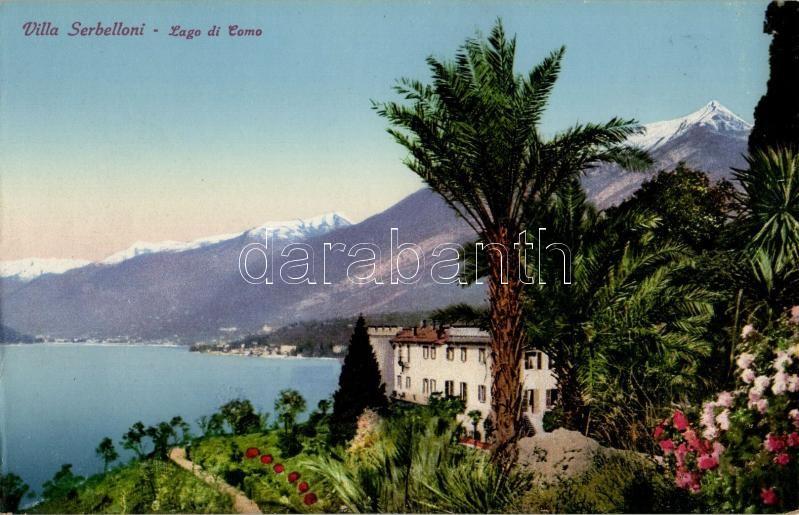 Lago di Como, Villa Serbelloni