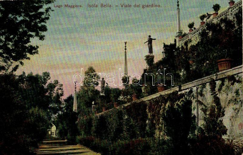Lago Maggiore, Isola Bella, Viale del giardino / garden path