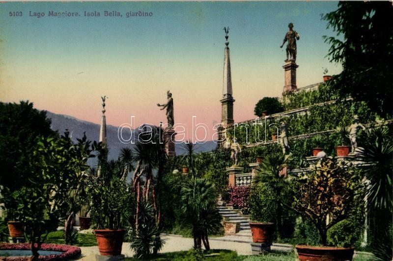 Lago Maggiore, Isola Bella, giardino / gardens