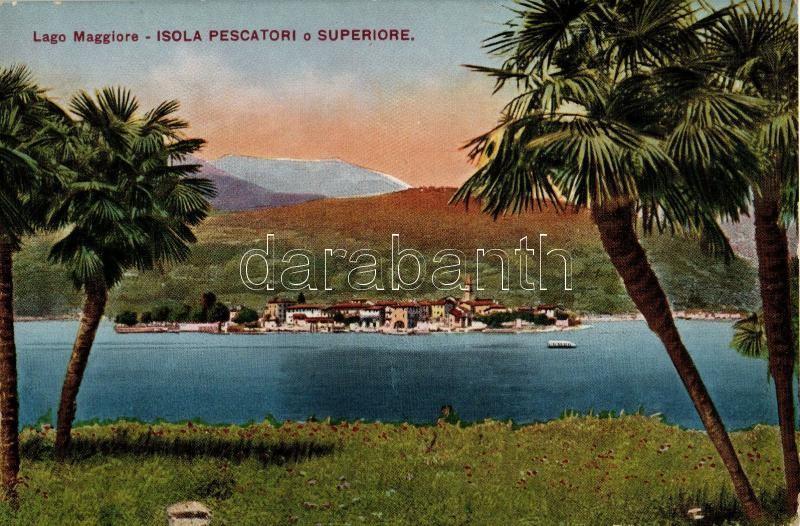 Lago Maggiore, Isola Pescatori o Superiore