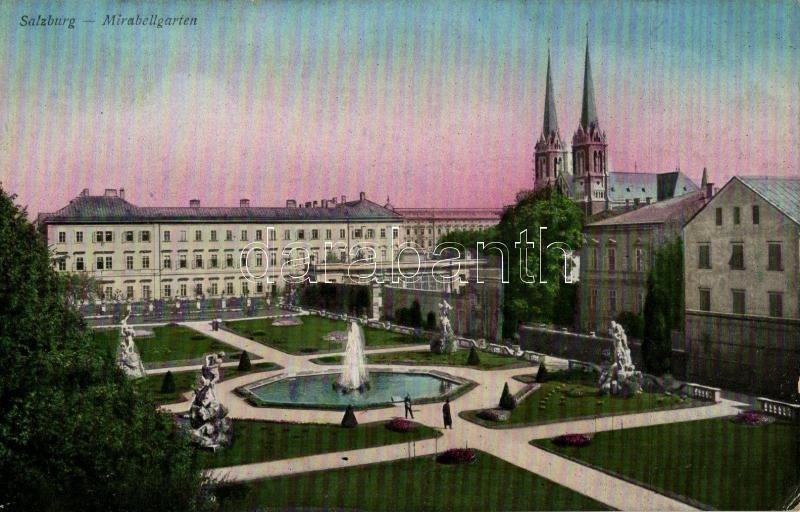 Salzburg, Mirabellgarten / castle gardens