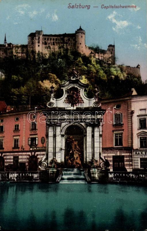 Salzburg, Capitelschwemme / fountain