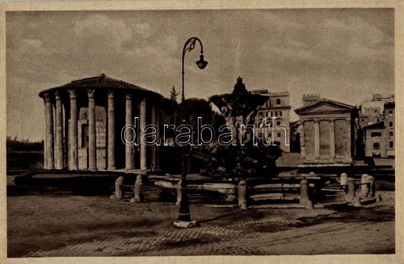 Rome, Roma; Templo di Vesta / Temple of Vesta