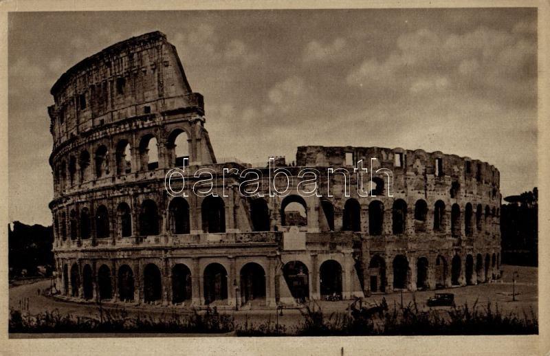 Rome, Roma; Anfiteatro Flavio o Colosseo / Flavian Amphiteatre as known as Colosseum