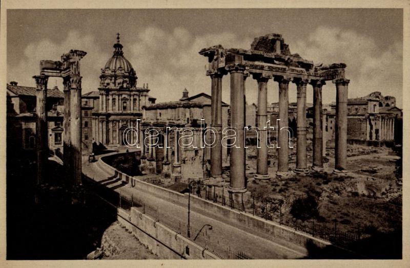 Rome, Roma; Panorama del Foro visto dal Campidoglio / Panorama of the Forum seen from the Capitol