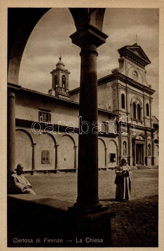 Firenze, Certosa di Firenze, La Chiesa / church