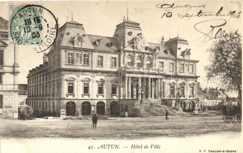 Autun, Hotel de Ville / town hotel