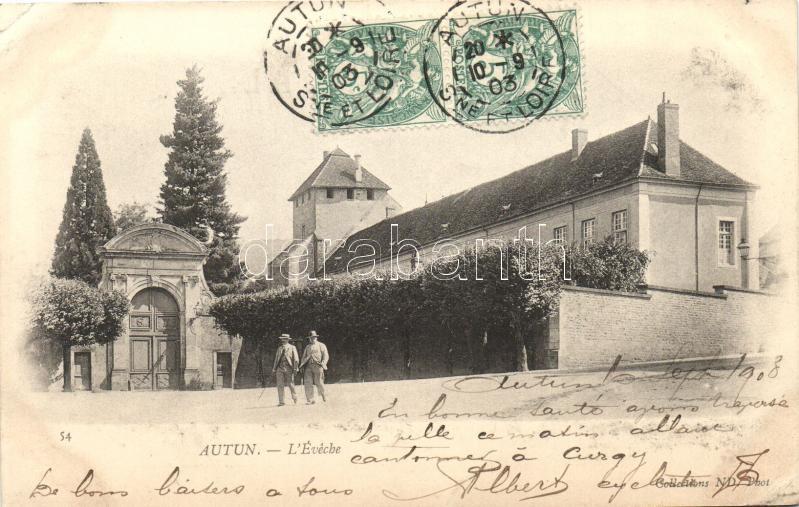 Autun, L'Éveché / bishopric