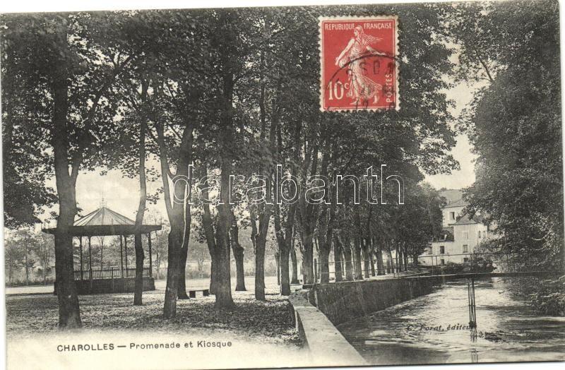 Charolles, Promenade et Kiosque