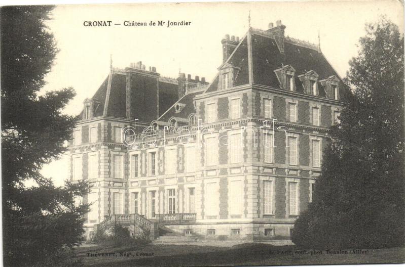 Cronat, Chateau de Mr. Jourdier / castle