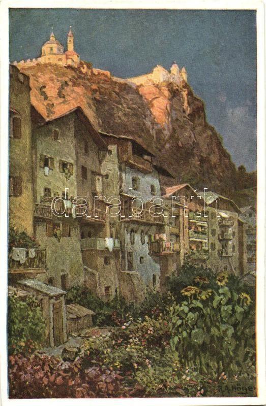Chiusa, Klausen; Monastero Sabiona / monastery s: R.A. Höger