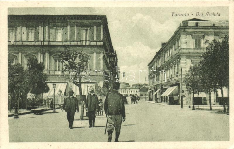 Taranto, Via Archita / street
