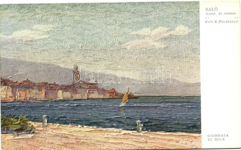 Lago di Garda, Giornato di Sole, Salo s: E. Polesello