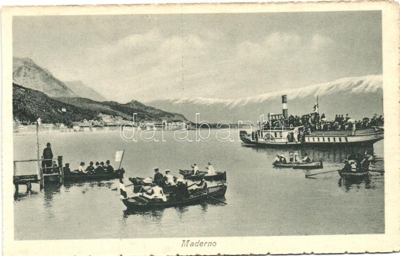 Lago di Garda, Maderno, steamship