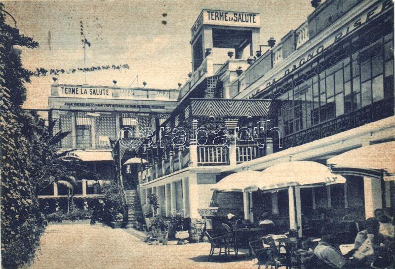 1955 Pozzuoli, Terme 'La Salute', Bar e Giardino / bar