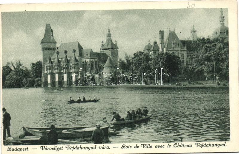 Budapest XIV. Városliget, Vajdahunyad vára