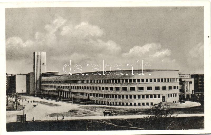 Novi Sad, Újvidék, Bán palota, '1941 Újvidék visszatért' So. Stpl