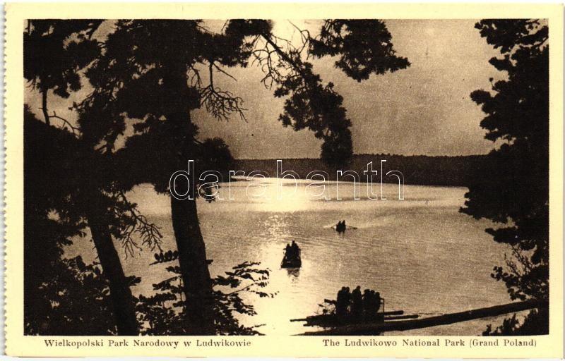 Panstw. Rada Ochrony Przyrody, Jezioro Goreckie / lake, Ludwikowo National park