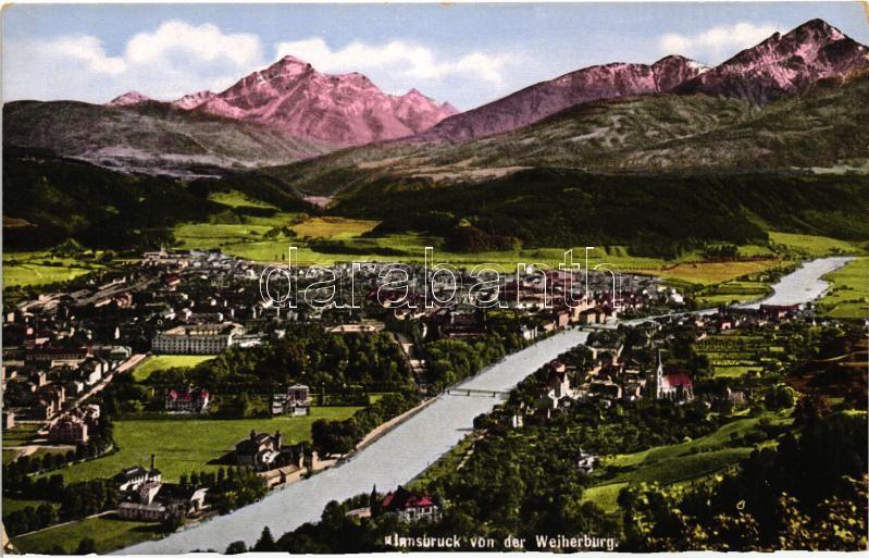 Innsbruck von der Weiherburg