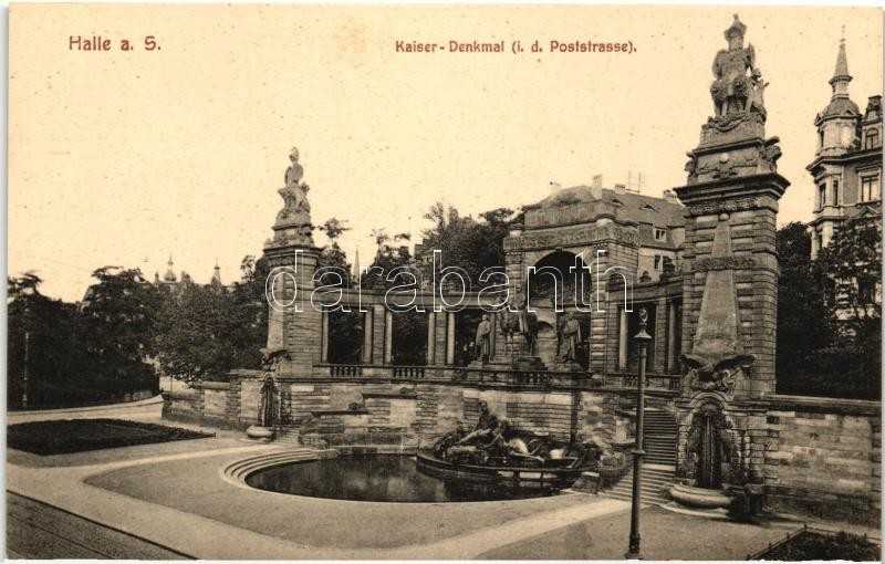 Halle a. Saale, Kaiser-Denkmal