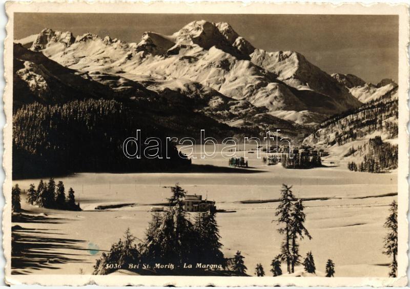 Bei St. Moritz, La Margna