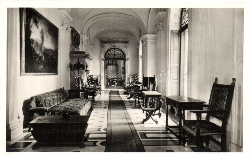 Radvány, kastély belső