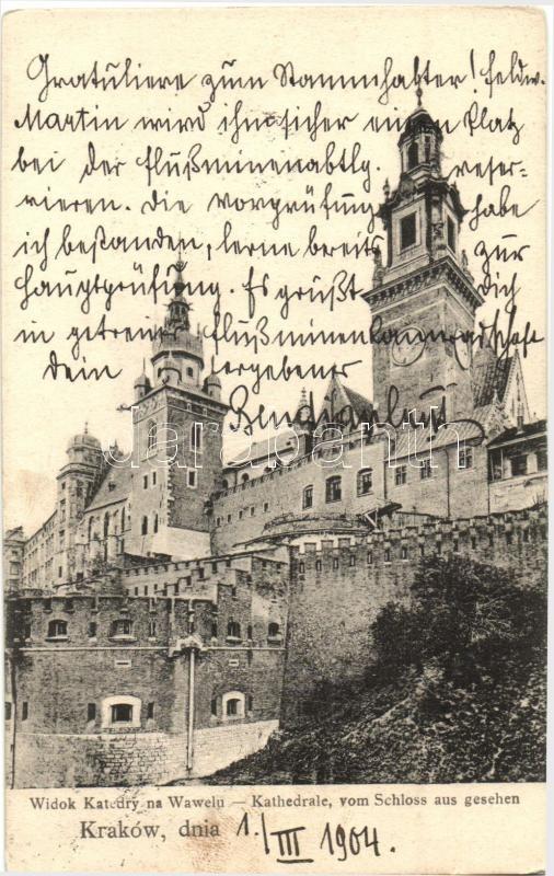 Kraków, Widok Katedry na Wawelu / cathedral