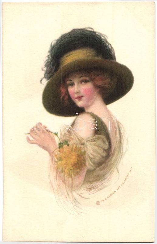 Lady, The Gibson Art Co., Hölgy, The Gibson Art Co.