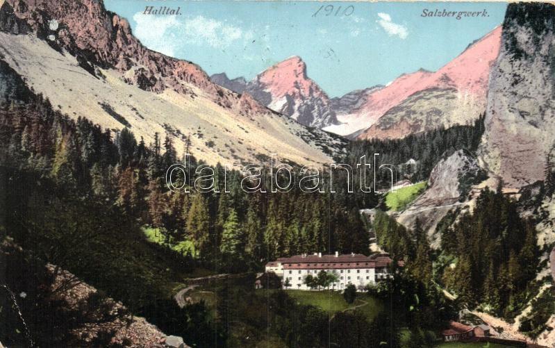 Halltal, Salzbergwerk