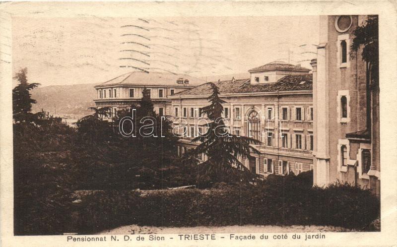 Trieste, Pensionnat N. D. de Sion / hotel