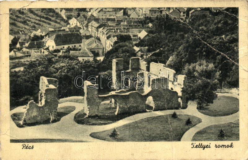 Pécs, Tettyei romok