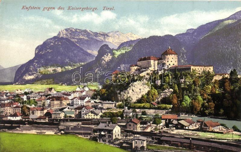 Kufstein gegen das Kaisergebirge, Tirol