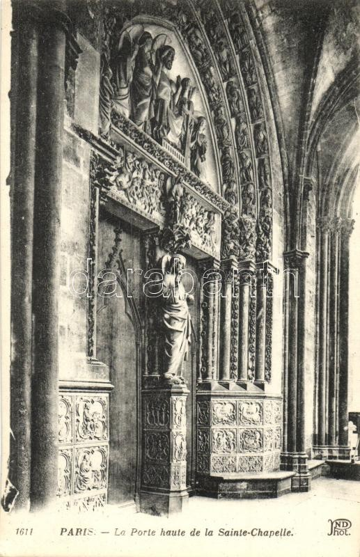 Paris, Ste Chapelle, Porte / chapel entry