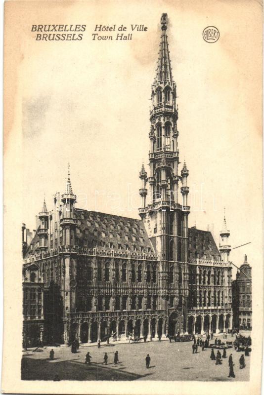 Brussels, Bruxelles; Hotel de Ville / town hall