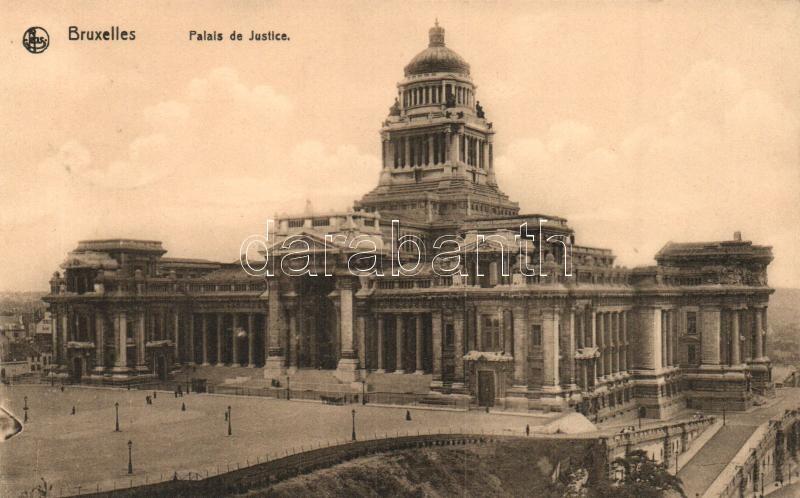 Brussels, Bruxelles; Palais de Justice / Palace of Justice
