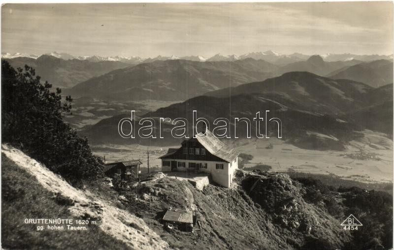 Gruttenhütte, Tauern / rest house