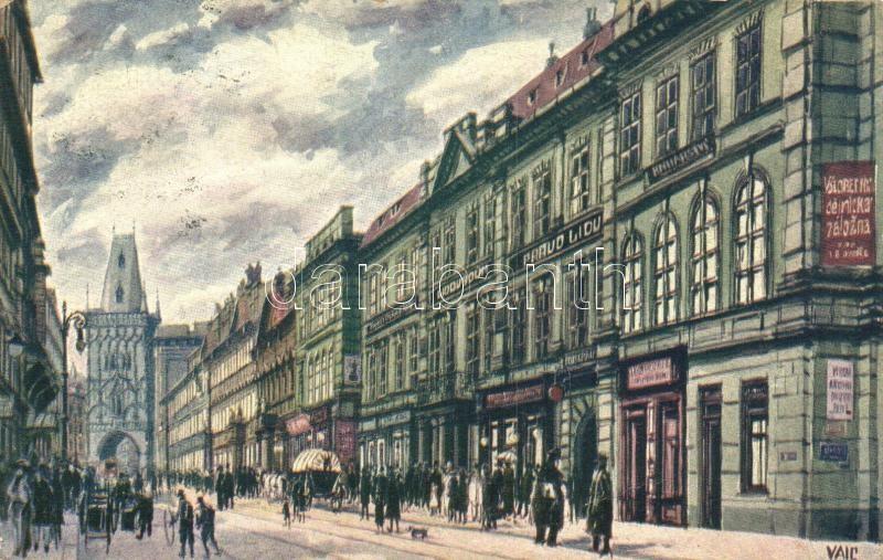 Praha, Prag; Hibernergasse / street s: Vaic