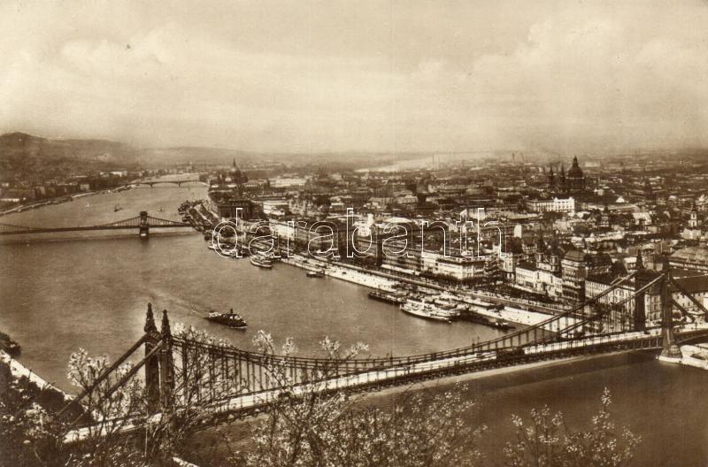 Budapest, Duna, Erzsébet híd