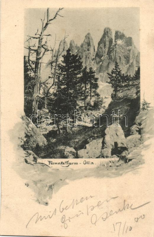 Gruppo delle Odle, Geislergruppe; Fermeda Thurm