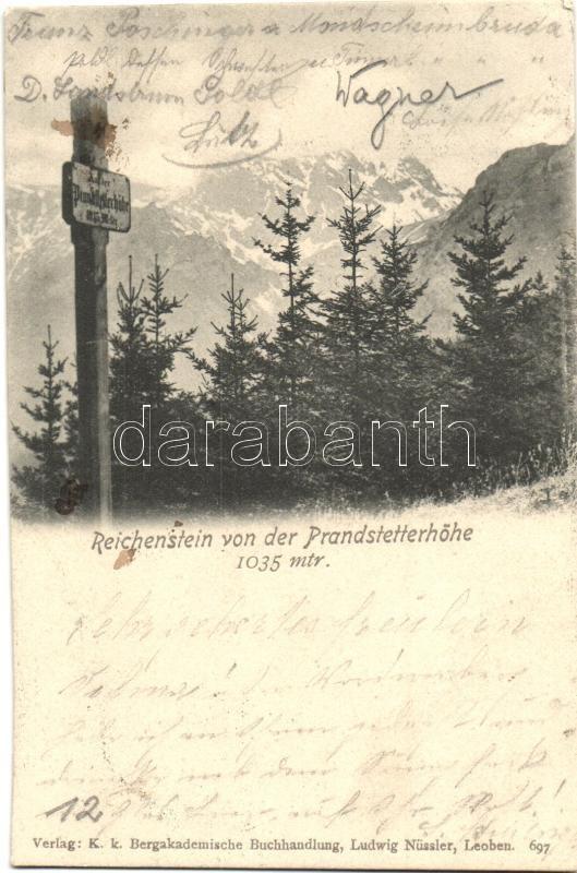 Reichenstein von der Prandstetterhöhe
