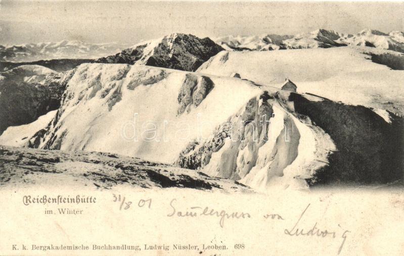 Reichensteinhütte im Winter