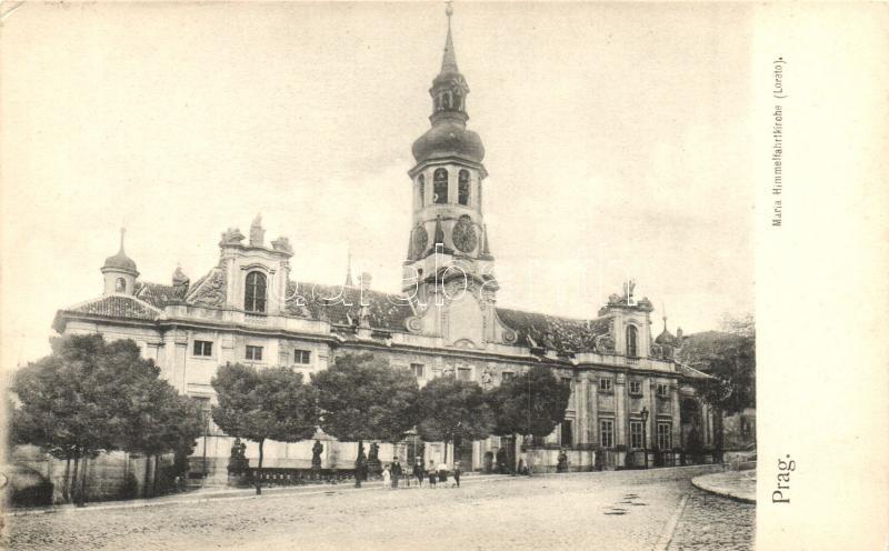 Praha, Prag; Maria Himmelfahrtkirche Lorato / church
