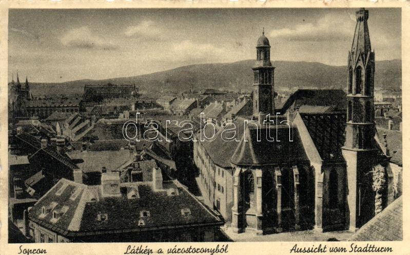 Sopron, Lákép a Várostoronyból